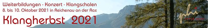 Klangherbst 2021 in Reichenau an der Rax