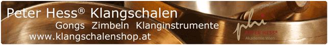 Peter Hess Klangschalen, Gongs und Zimbeln im Klangschalen Shop